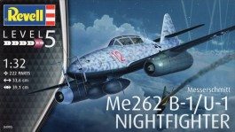 Aviao Messerschmitt Me-262 B-1/U-1 - NIGHTFIGHTER     04995 - REVELL ALEMA
