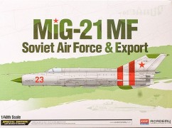 Avião MIG-21 MF Soviet Air Force and Export - ACADEMY