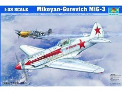 Avião Mikoyan-Gurevich MIG-3 - TRUMPETER