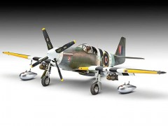 Avião North American P-51C Mustang MK.III 04872 REVELL ALEMA