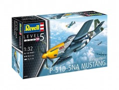 Avião North American P-51D 5NA Mustang - Early Version - REVELL ALEMA