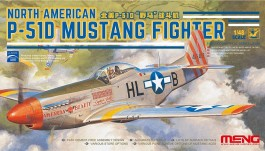 Avião North American P-51D Mustang Fighter - MENG