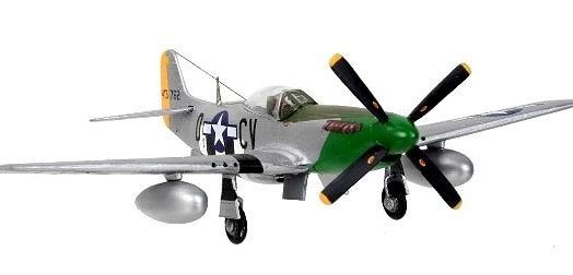 Aviao North American P-51D Mustang - REVELL ALEMA » Kits - Avioes