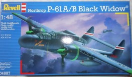 Aviao Northrop P-61 A/B Black Widow - REVELL ALEMA