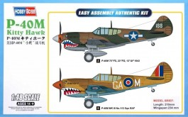 Aviao P-40M Kitty Hawk - HOBBYBOSS