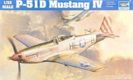 Aviao P-51D Mustang IV                              02275 - TRUMPETER