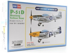Aviao P-51D Mustang Yellow Nose                     85808 - HOBBYBOSS