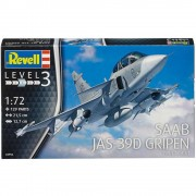 Aviao Saab JAS-39D Gripen Twin Seater            03956 - REVELL ALEMA