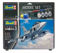 Aviao Saab JAS-39D Gripen - Twin Seater C/Tintas,Pinceis e C - REVELL ALEMA