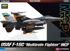 Avião USAF F-16C - MUltirole Fighter ACADEMY