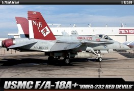 Aviao USMC F/A-18A+ VMFA 232 RED DEVILS                12520 - ACADEMY