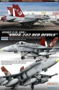 Aviao USMC F/A-18A+ VMFA 232 RED DEVILS                12520 ACADEMY