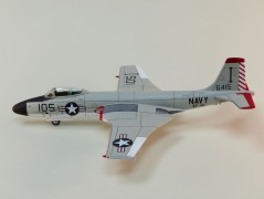 Aviao USN-F2H-3 Banshee VF-41 - Black Aces ACADEMY