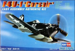 Avião Vought F4U-1D Corsair                           80217 - HOBBYBOSS
