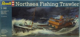 Barco Pesqueiro Mar do Norte - Northsea Fishing Trawler - REVELL ALEMA