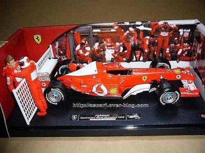 Barrichello E Schumacher - Ferrari 2003 Contructors World - HOT WHEELS - SERIE NUMERADA E LIMITADA