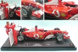 Barrichello E Schumacher - Ferrari 2003 Contructors World - - HOT WHEELS - SERIE NUMERADA E LIMITADA