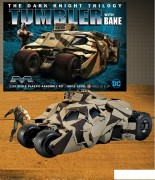 Batmovel - The Dark Knight Armored Tumbler with Bane - MOEBIUS