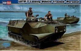 Blindado Anfibio LVTP-7 Landing Vehicle Tracked Personal - HOBBYBOSS