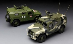 Blindado GAZ 233014 STS - TIGER - Russian Armored High Mobil MENG