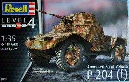 Blindado German Armoured Scout Vehicle P 204 (f) - REVELL ALEMA