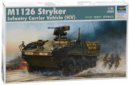 Blindado M-1130 Stryker Command Vehicle - TRUMPETER