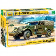 Blindado M-3 scout car with canvas                      3581 - ZVEZDA