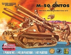 Blindado M-50 ONTOS 106MM CANNON - REVELL AMERICANA