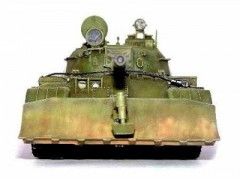 Blindado Sovietico T-55 with BTU-55 - BullDozer SKIF