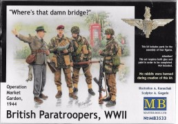Bristish Paratroopers, WWII - Operation Market Garden, 1944 - MASTER BOX