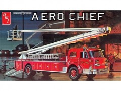 Caminhao Bombeiros American LaFrance Aero Chief Fire Truck - AMT