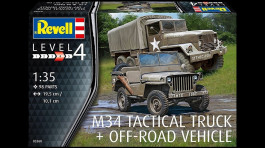 Caminhao GMC M-34 Tactical Truck e Jeep Willys         03260 - REVELL