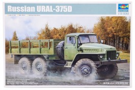 Caminhao Russo URAL 375-D                             01027 - TRUMPETER
