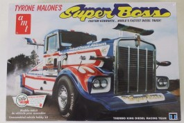 Caminhao Tyrone Malone Kenworth Super Boss Drag Truck - AMT