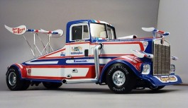 Caminhao Tyrone Malone Kenworth Super Boss Drag Truck AMT