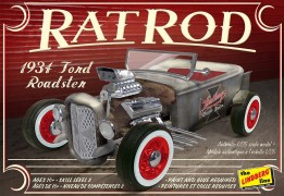 Carro 1934 Ford Roadster Rat Rod - LINDBERG