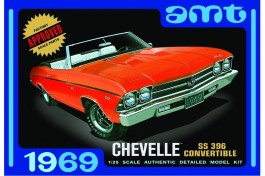 Carro 1969 Chevy Chevelle SS 396 Convertible - AMT