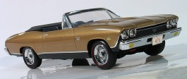 Carro 1969 Chevy Chevelle SS 396 Convertible AMT