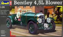 Carro Bentley 4,5L with Blower  - Le Mans - 1930       07007 - REVELL ALEMA