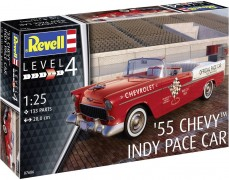 Carro Chevy Bel Air 1955 - Indy Pace Car - REVELL