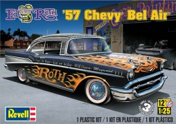 "Carro Chevy Bel Air 1957 - ED ""Big Daddy"" Roth - REVELL AMERICANA"