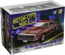 Carro Chevy Camaro Nickey RS/SS 1967                    4377 - REVELL