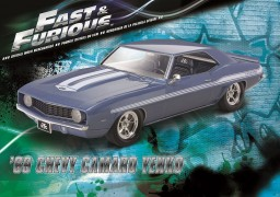 Carro Chevy Camaro Yenko S/C 427 1969 Fast and Furious - REVELL