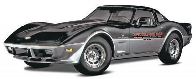 Carro Chevy Corvette 1978 - INDY 500 PACE CAR REVELL AMERICANA