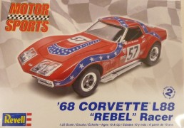 Carro Chevy Corvette L-88 Rebel Racer                   4915 REVELL
