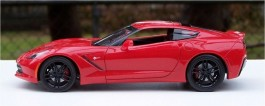 Carro Chevy Corvette Stingray 2014 REVELL AMERICANA