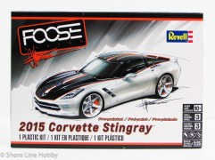 Carro Chevy Corvette StingRay 2015 - FOOSE Design - REVELL