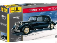 Carro Citroen 15 CV Traction Avant 1955       80763 - HELLER