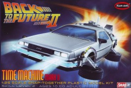 Carro De Lorean De Vola para o Futuro II - Back to the Futur - POLAR LIGHTS