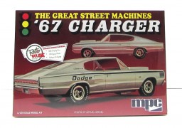 Carro Dodge Charger 1967 - Great Street Machines - MPC